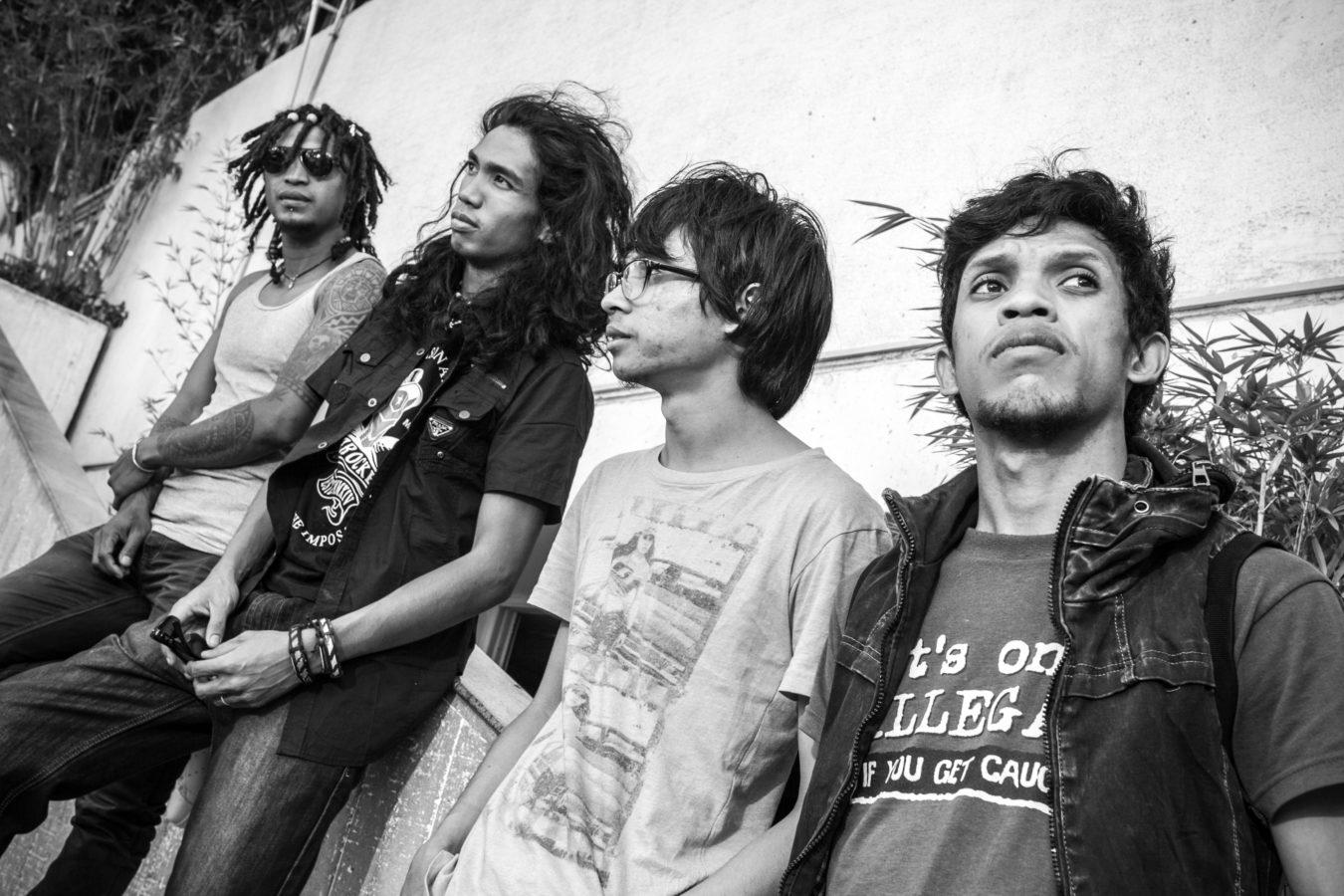 13/10/2015 - Antananarivo, MADAGASCAR - Le groupe THE DIZZY BRAINS. PHOTO : © RIJASOLO